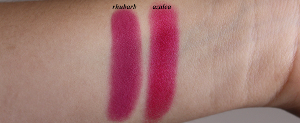 mac rhubarb blush pro review swatch nc30