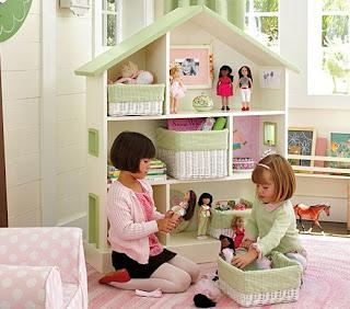 Interior tempat mainan anak