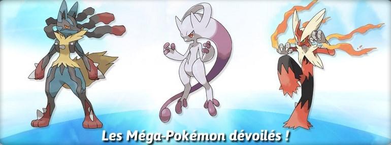 Pok mon x et y nintendo pr sente les m ga volutions watchthegeek - Les mega evolution pokemon x et y ...