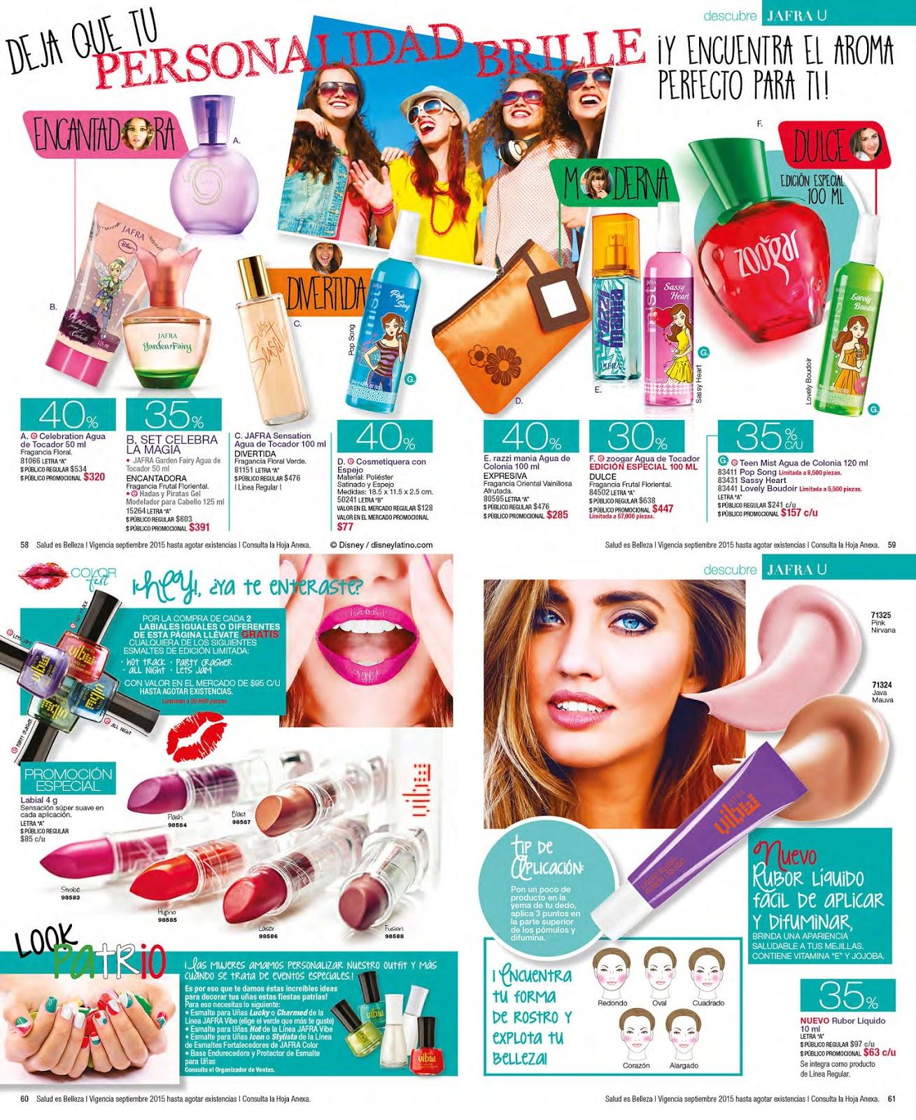 Linaje jafravic catalogo jafra septiembre 2015 for Catalogo puntos bp