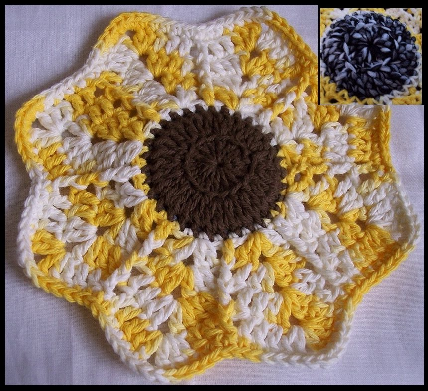 SUNFLOWER CROCHET PATTERN GRAPH AFGHAN EMAILED .PDF | CozyConcepts