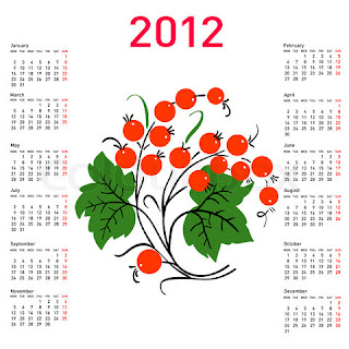 New Flower Calendars 2012 wallpapers photos pictures