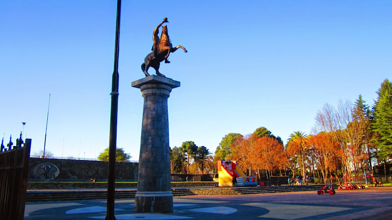 Parque Monumental Bernardo O´Higgins Chillán Viejo