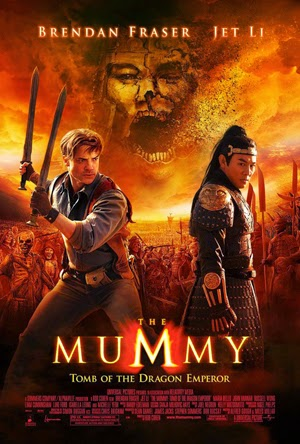 The Mummy: Tomb Of The Dragon Emperor 2008 movie poster