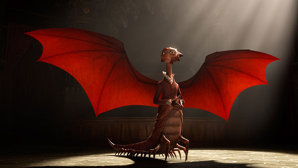 Helen Mirren as Dean Hardscrabble in Monsters University