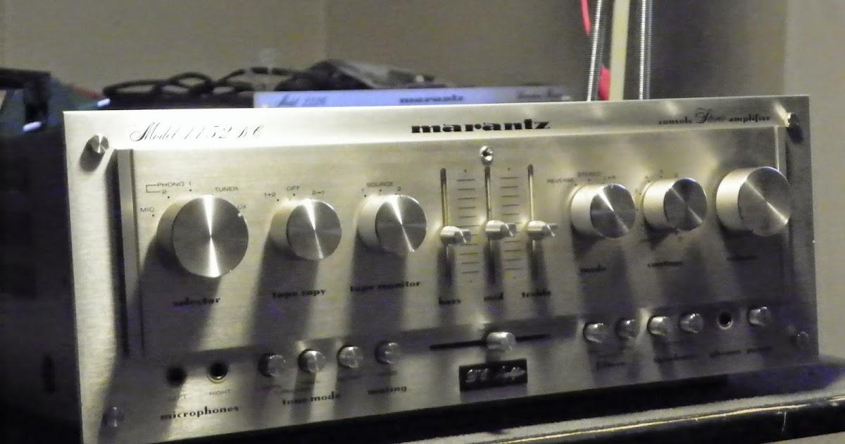 Hallo-Fi Vintage Audio : Marantz 1152DC Integrated ...