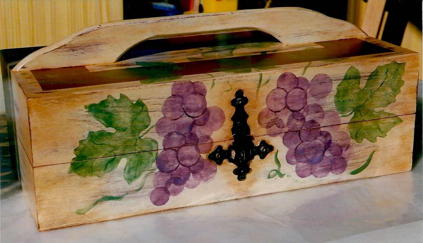 La artesan a de ana decapado matizado y decoraci n con - Artesania y decoracion ...