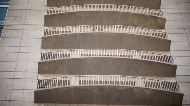 picture of a balconies of a building