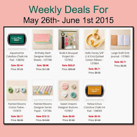 Weekly Deals Sale!  May 26-June 1