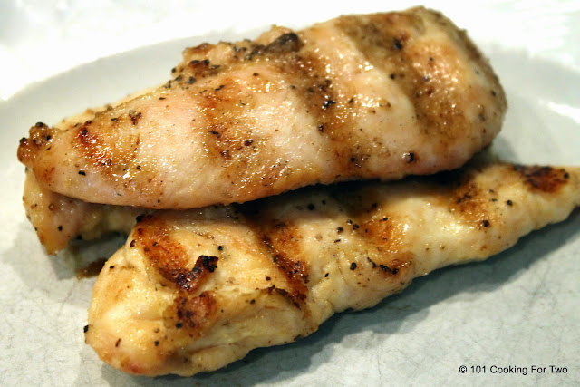 Great Grilled Chicken Tenders  from 101 Cooking For Two