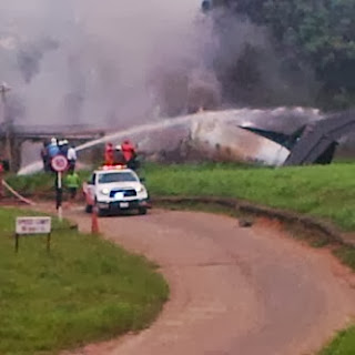 private plane carrying late olusegun agagu�s body crashes