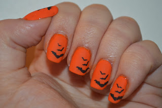Kiko & Konad Halloween Bat Nails