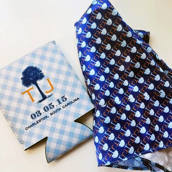 Custom Charleston Pocket Square