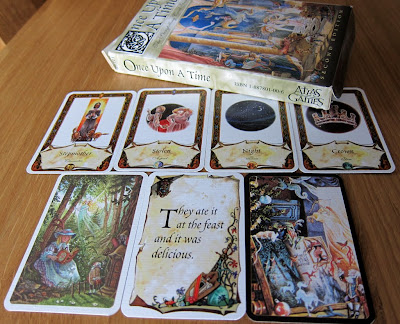 The Once Upon A Time box and some cards