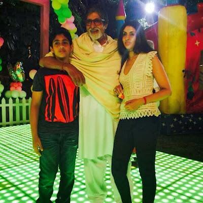 Photos: Aaradhya Bachchan's birthday bash