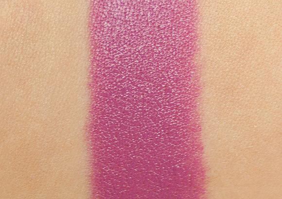 MAC Up the Amp Lipstick Swatch