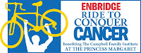 image Enbridge Gas Ride to Conquer Cancer benefitting the Campbell Family Institute at Princess Margaret Hospital