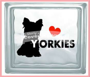 Love Yorkie Cube Light