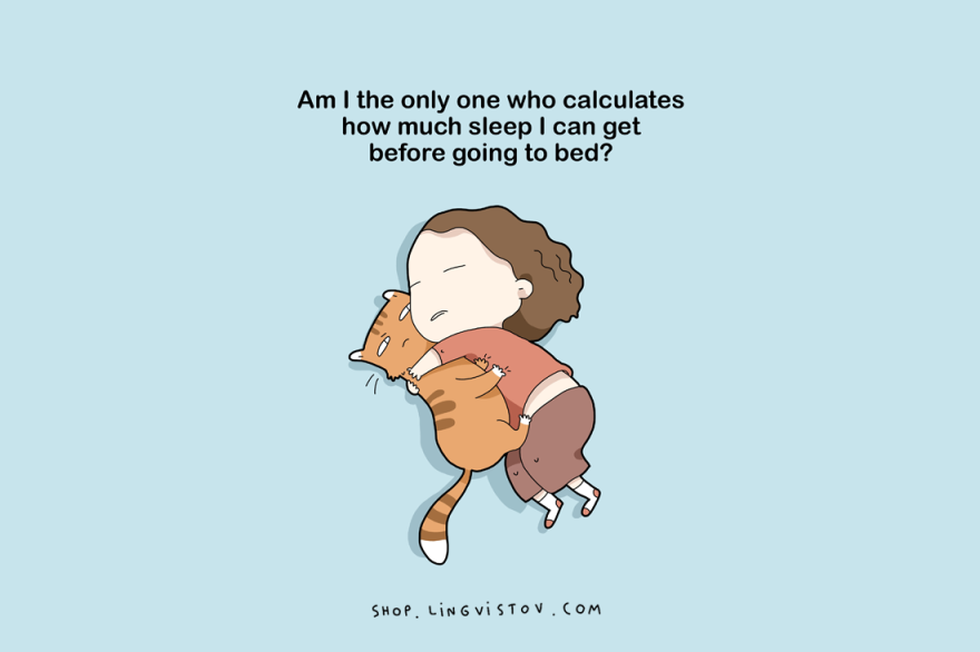 15 Funny Pictures About Sleep Lovers