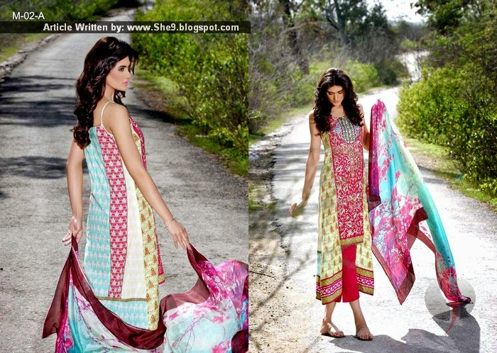 Mehdi Lawn 2015-2016 Catalogue by Al-Zohaib Textiles