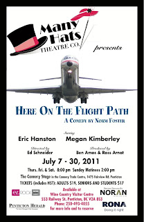 Many Hats Theatre production of Here On The Flight Path