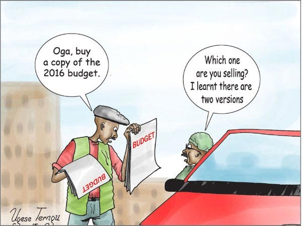 Check Out This Funny Cartoon On 2016 Budget