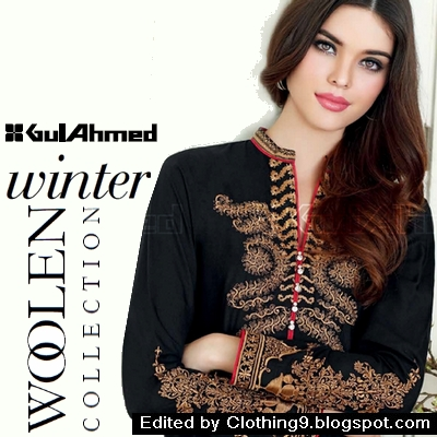 Gul Ahmed Winter Collection 2015-2016 Catalog / Magazine ~ Clothing9 ...