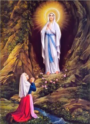 Gruta de Lourdes (160° aniversario de las Apariciones)