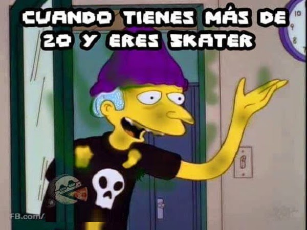 Etiqueta a tu amigo skater