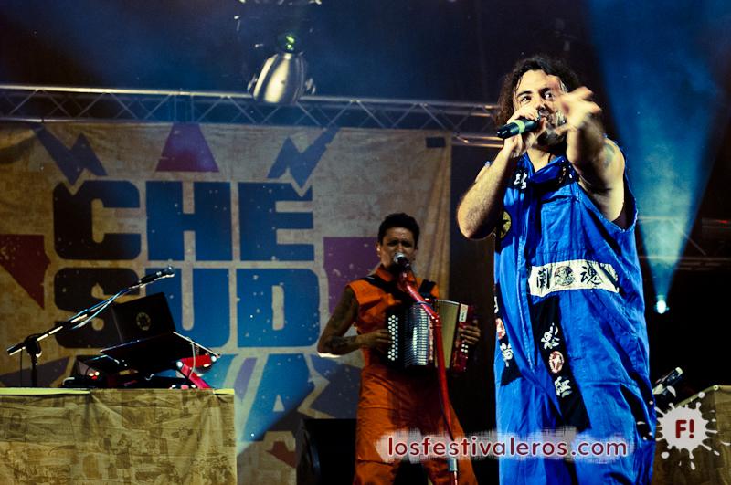 Che Sudaka en el festival RioLoco 2014 en Toulouse