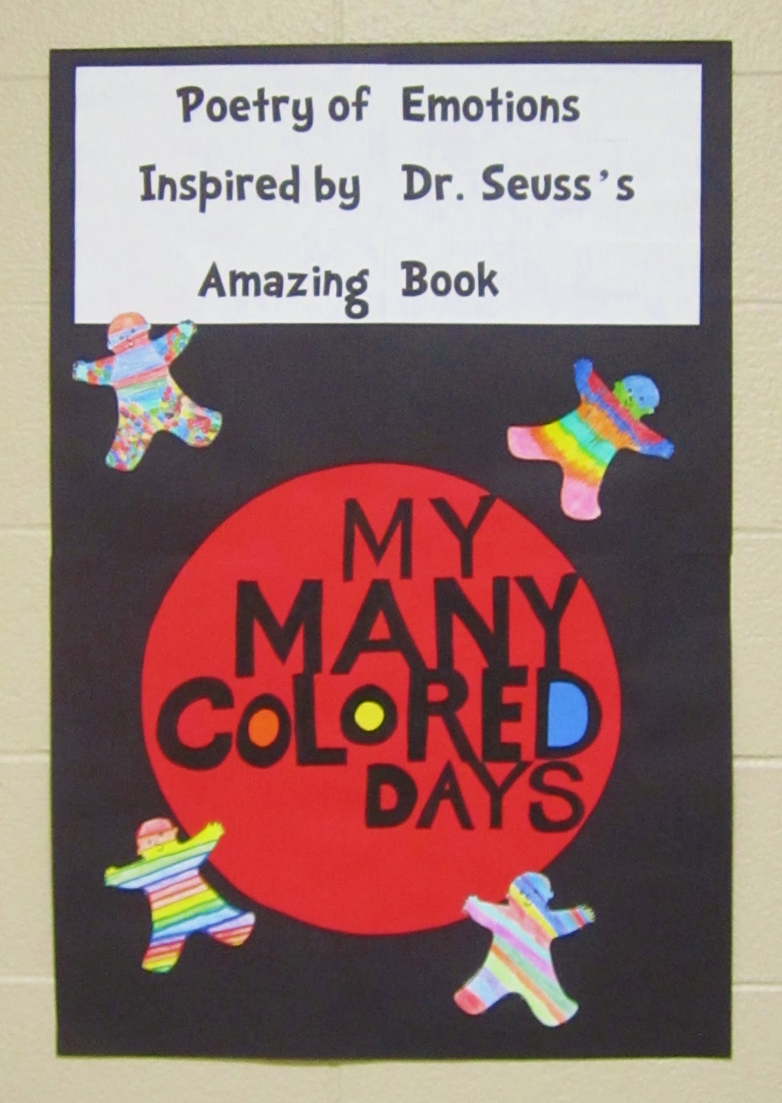 Teaching My Friends!: My Many Colored Days