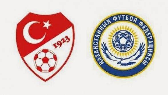 Türkiye Kazakistan 2016 Avrupa Şampiyonası eleme maçı nerede saat kaçta