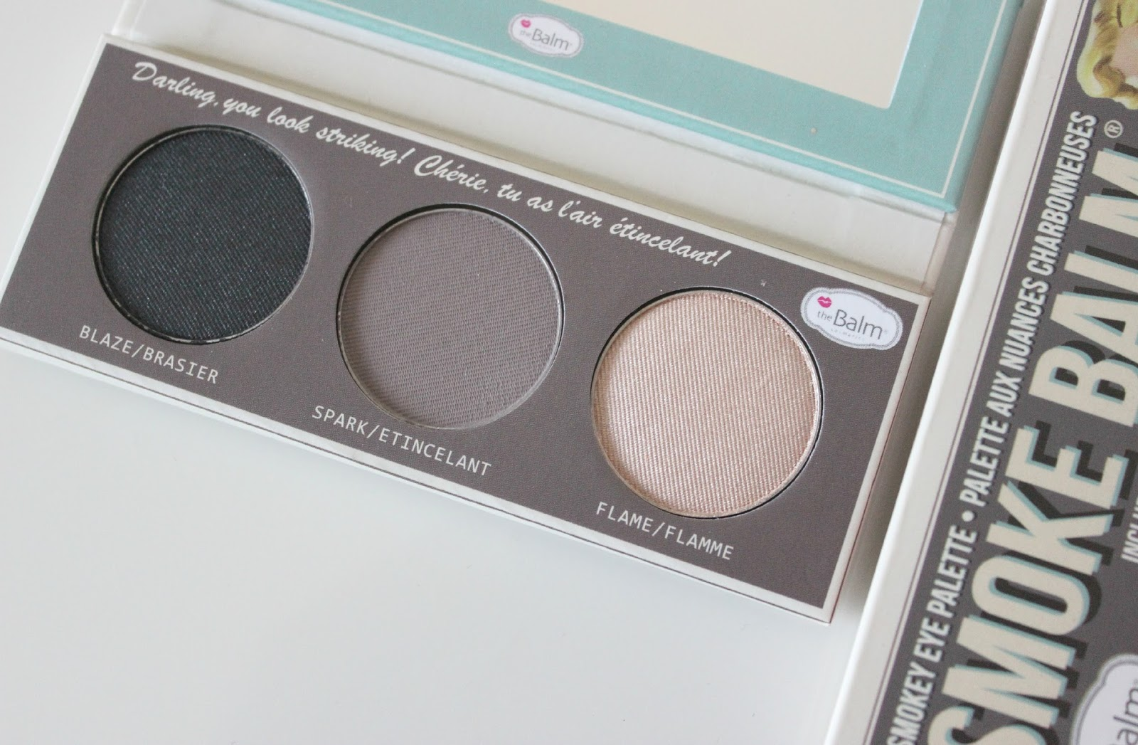 A picture of theBalm Smoke Balm eyeshadow palette