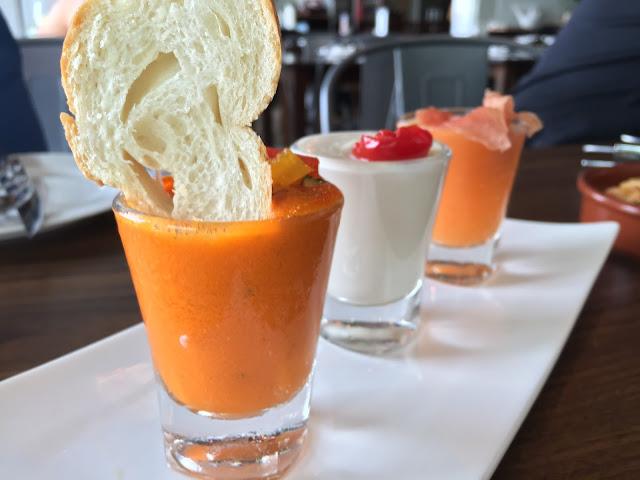 Milagro Spanish Restaurant - Cold Soup Chupitos