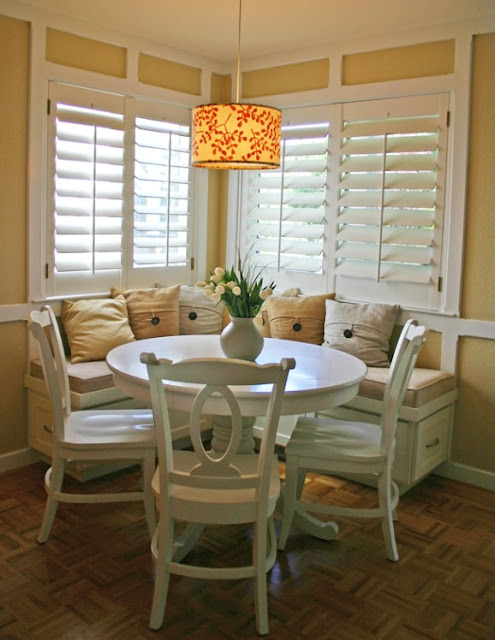 corner breakfast nook set