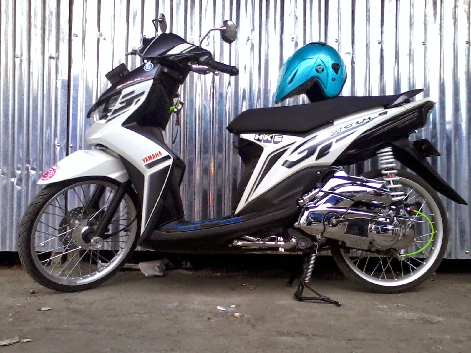 Top modifikasi velg mio soul gt