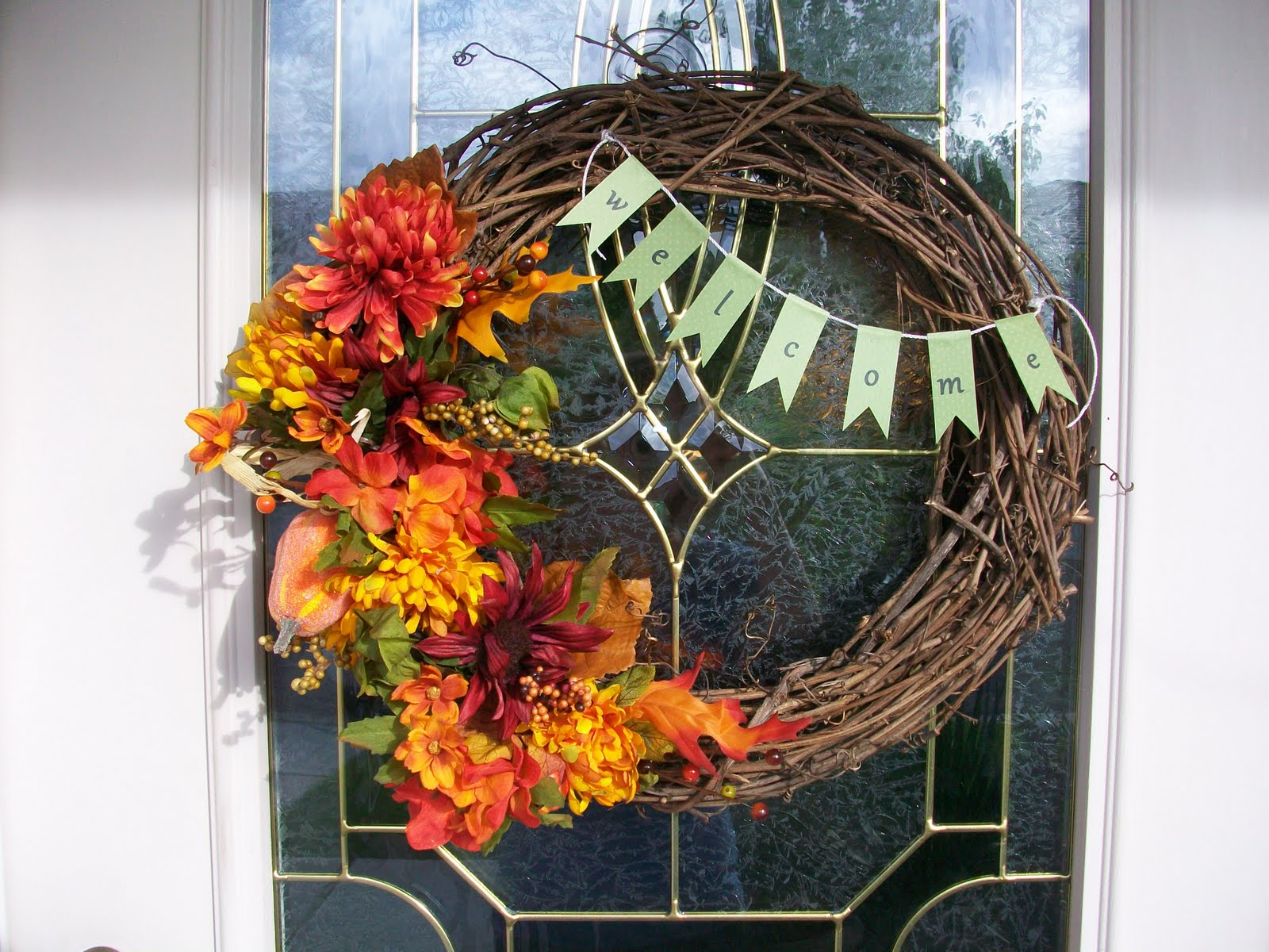 Grace And Love A Craft Blog Fall Wreath Tutorial