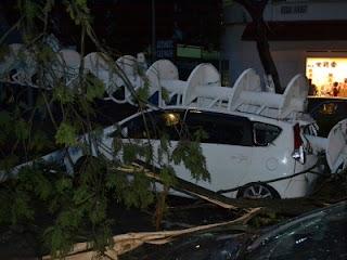 Terkini | gambar ribut yang berlaku di pulau pinang