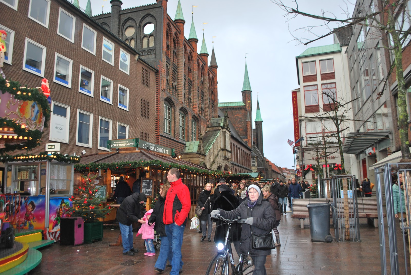 Lubeck Germany  city photo : We enjoyed some of our favourite things...me chips pommes with mayo ...