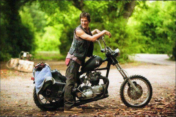 Her Majesty S Thunder Walking Dead S Daryl Rides A