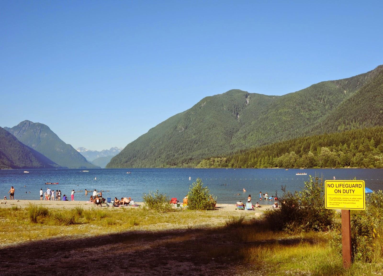 Alouette Lake, BC, Canada \ Озеро Аллуэт, Канада, Британская Колумбия