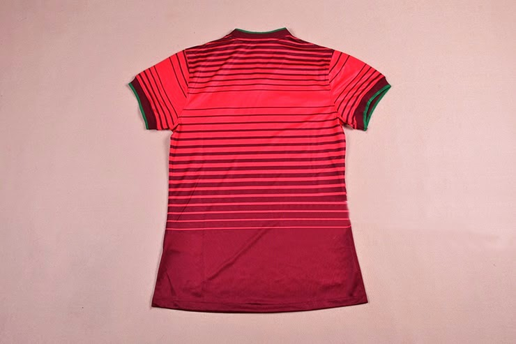 Jersey Ladies Portugal Home Grade ORIGINAL