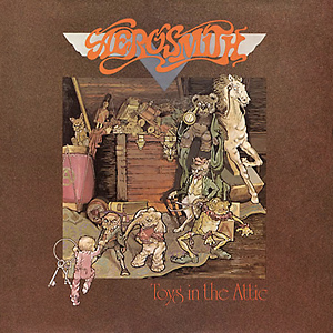 Aerosmith Toys In The Attic album cover 1975