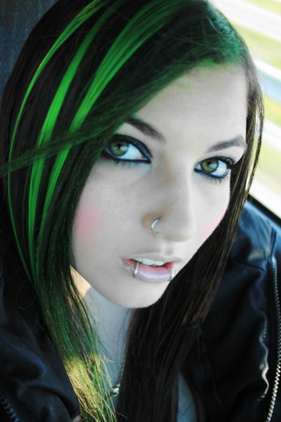 Emo Girls Hairstyle Ideas