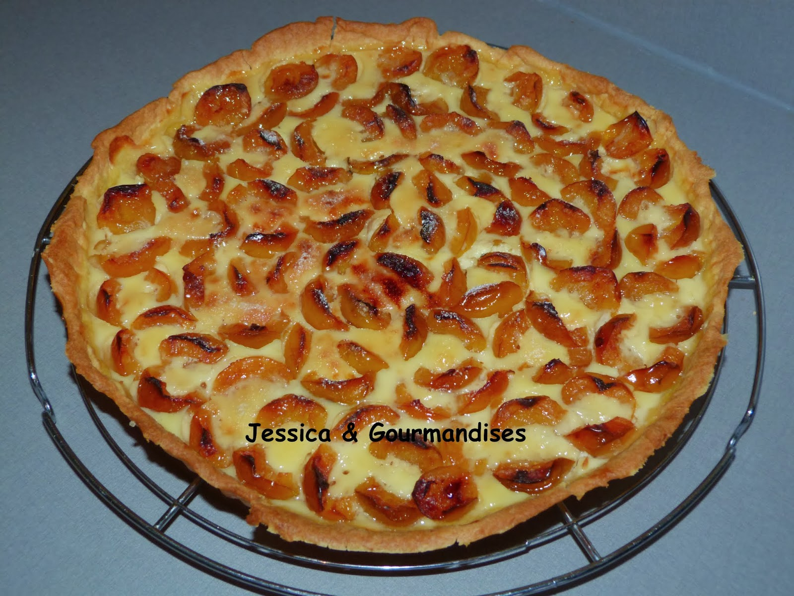 Jessica gourmandises tarte aux mirabelles - Recette avec des mirabelles ...