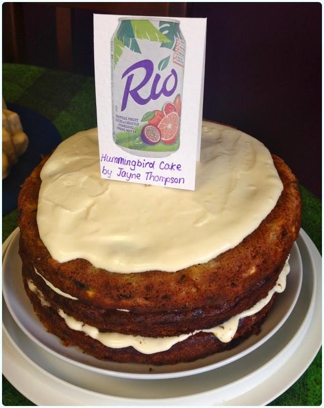 Clandestine Cake Club Bolton - Hummingbird Cake
