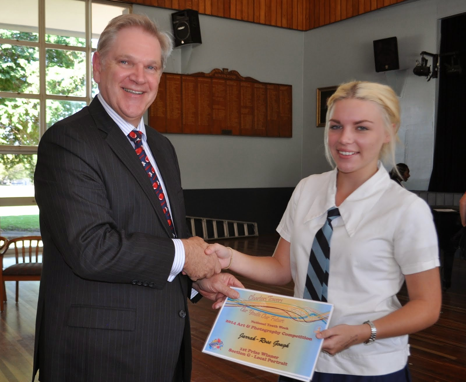 Regional Council Youth Week Art Competition Winner Jarrah Gough