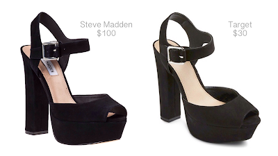 Looks for Less: Steve Madden Jillyy Sandals vs. Target Mossimo Platform Sandals