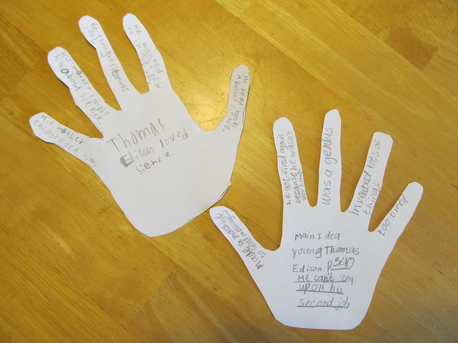 "Sub Hub: A ""Hands-on"" Way of Teaching Main Idea"