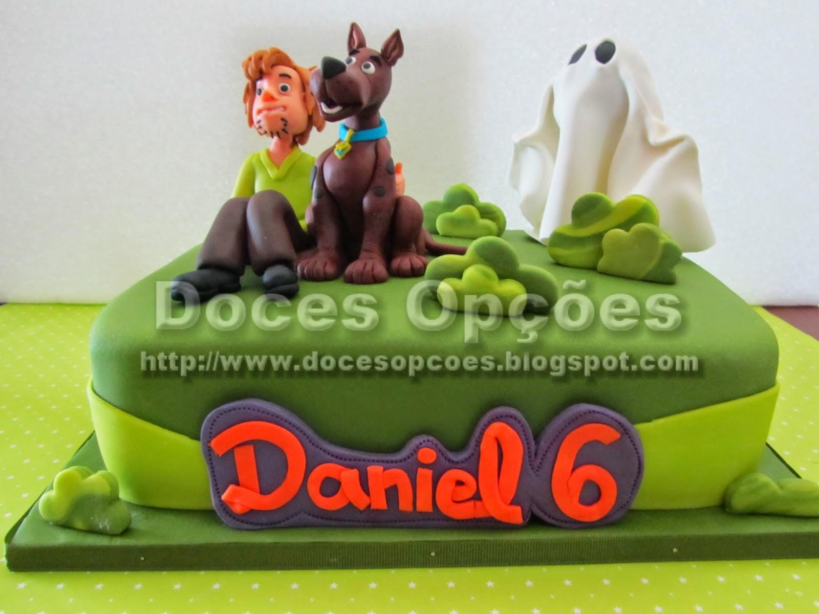 bolo Scooby-Doo doces opções bragança portugal